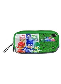 Pj Masks Pj Masks (Pijamaskeliler) Yeşil Kalem Çantası 95831